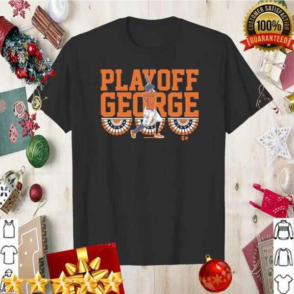 George Springer Playoff George
