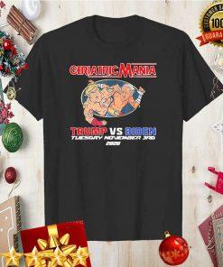 GeriactricMania 2020 Trump And Biden Tuesday November 3RD Shirt 5