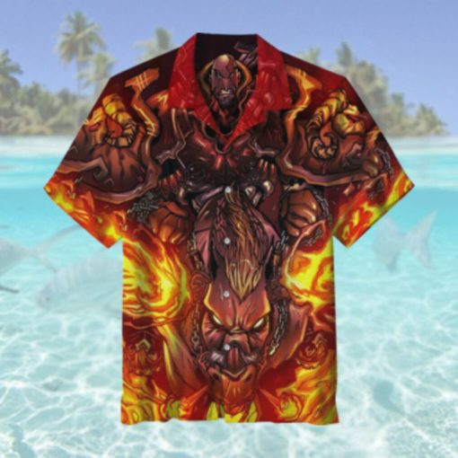 God of War Hawaiian Shirt