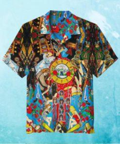 Guns N' Roses Vintage Hawaiian Shirt
