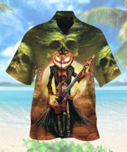 Halloween Death Music Hawaiian Shirt
