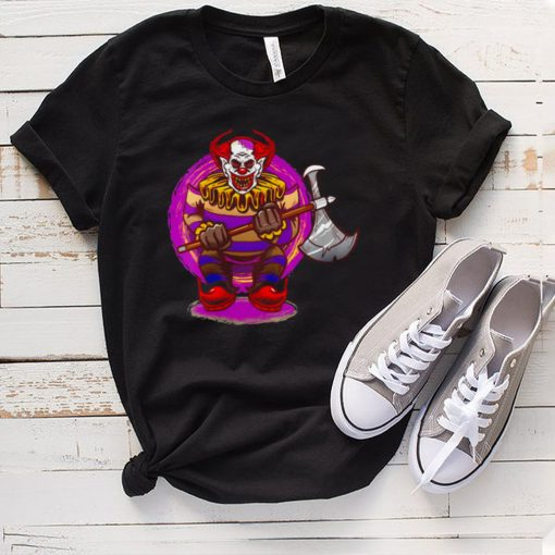 Halloween Horror Clown Mask Decoration Scary Costume T shirt