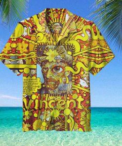 Halloween Van Gogh Hawaiian Shirt