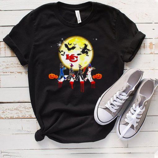 Halloween Witch Kansas City Chiefs Abbey Road shirt