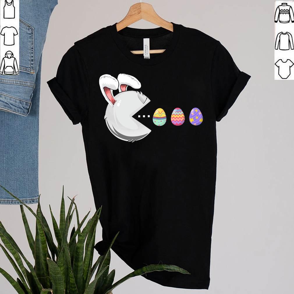 Happy Easter Day Bunny Egg Boys Girls Kids Easter Gamer T-Shirt