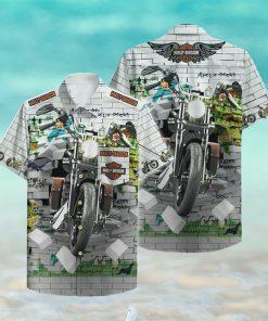 Harley Davidson Hawaii Hawaiian Shirt Fashion
