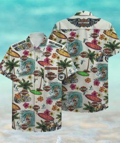 Harley Davidson Hawaii Hawaiian Shirt
