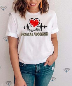 Heartbeat Essential Postal Worker Shirt
