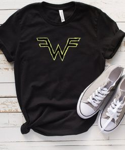 Hella Mega Tour Weezer Scribble W shirt
