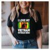 I Love My Vietnam Veteran Hero T-Shirt 1