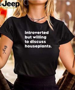 Introverted but willing to discuss houseplants
