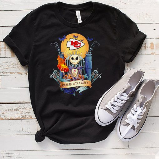 Jack Skellington Kansas City Chiefs Halloween shirt