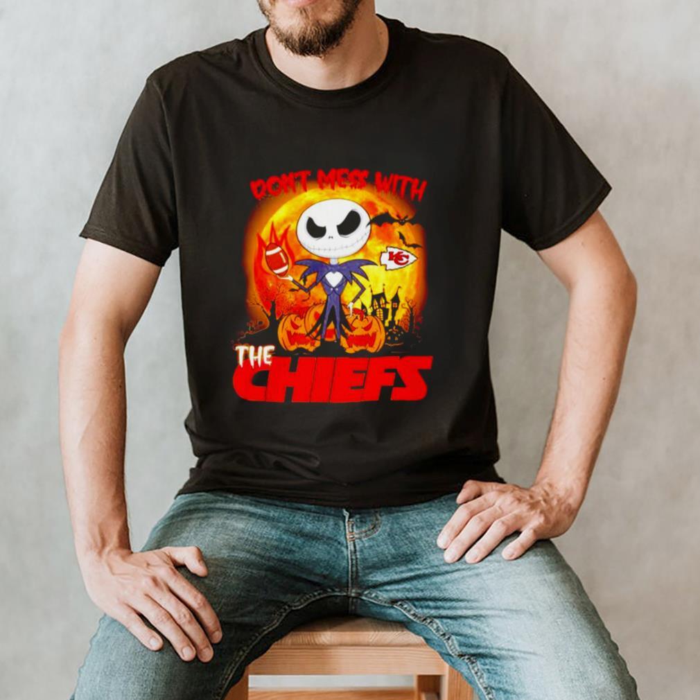 Jack Skellington dont mess with the Kansas City Chiefs Halloween shirt