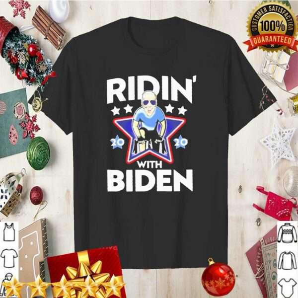 Joe Biden bicycle ridin 2020 with Biden