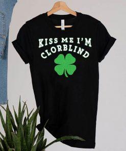 Kiss Me I'm Colorblind St T-Shirt