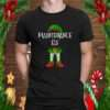 Maintenance Elf Matching Family Christmas design T Shirt