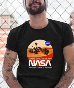 Mars 2020 mission perseverance rover nasa shirt