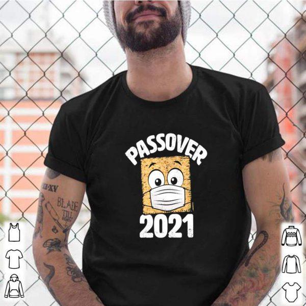 Passover 2021 matzo wearing face mask shirt 5