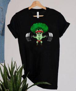 Powerlifting Broccoli Keto Cute Lifter Vegans shirt