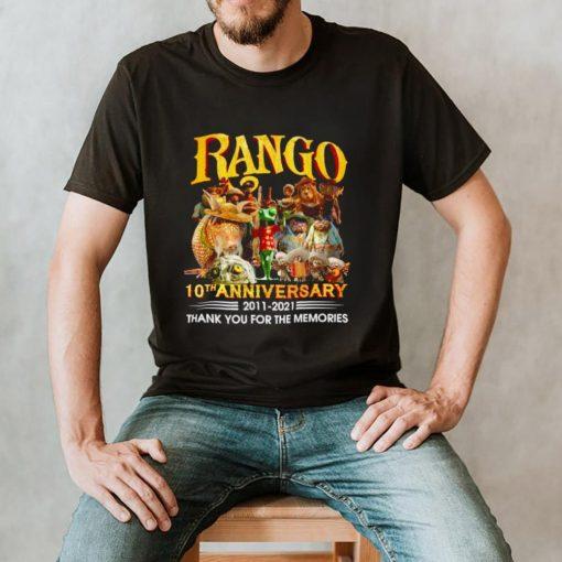 Rango 10th anniversary 2011 2021 shirt
