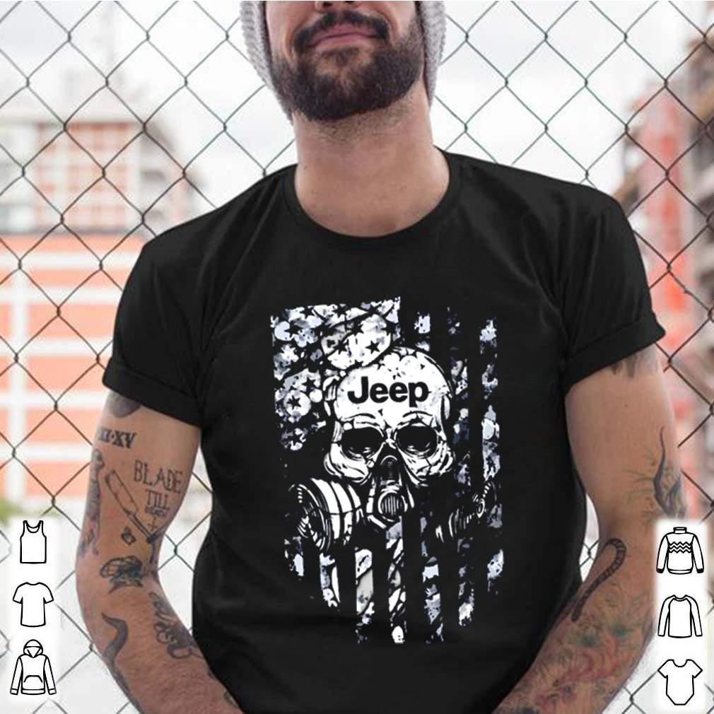 Skull jeep veteran shirt 7