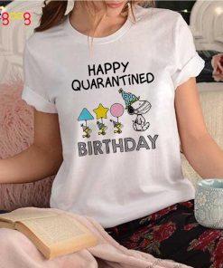 Snoopy Woodstock Mask Happy Quarantine Birthday