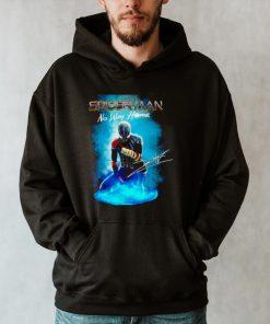 Spider Man No Way Home signatures poster shirt