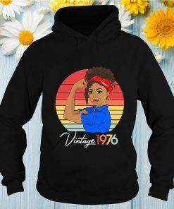 Strong Girl Vintage Since 1976 Retro T-Shirt