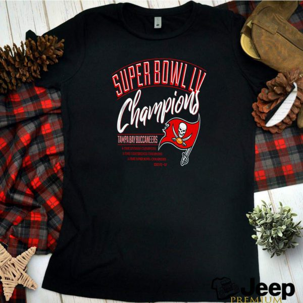 Super Bowl LV champions Tampa Bay Buccaneers 6 time division champion shirt 6