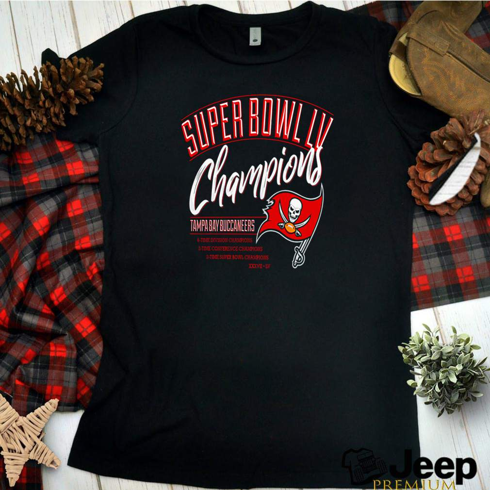 Super Bowl LV champions Tampa Bay Buccaneers 6 time division champion shirt 16