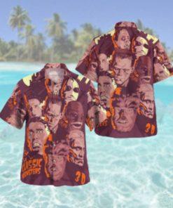 The Classic Monsters Horror Hawaiian Hawaiian Shirt