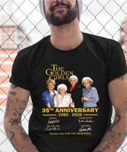 The Golden Girl Anniversary 1985 2020 shirt