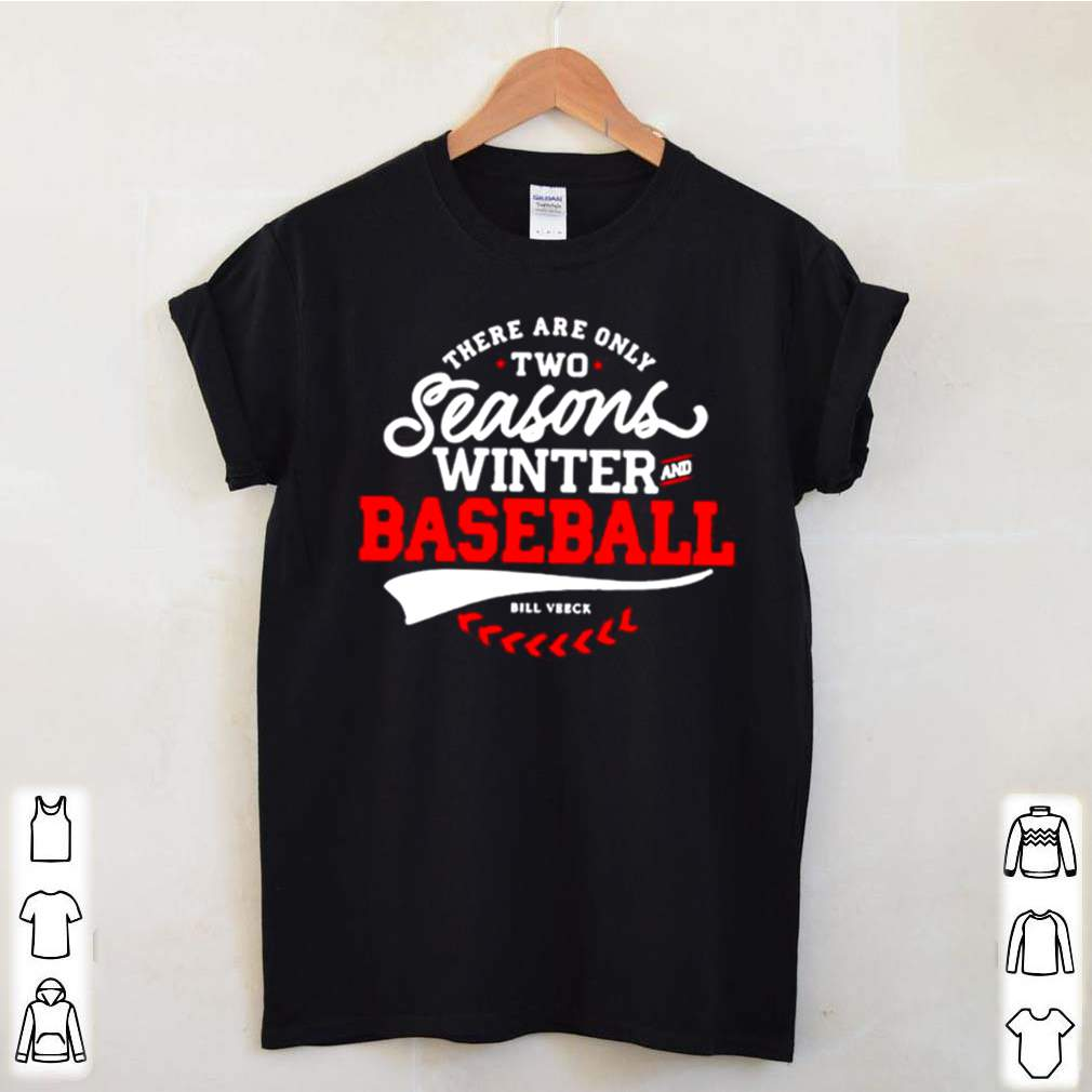 There Are Only Two Seasons Winter And Baseball shirt 5