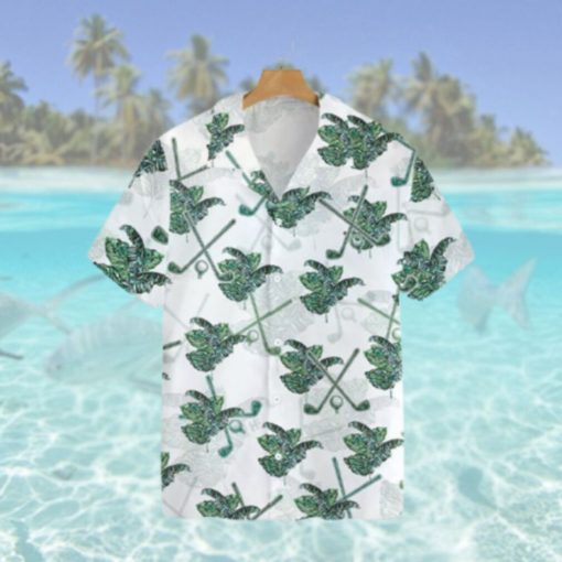 Tropical Golf 3D Hawaiian Hawaiian Shirt