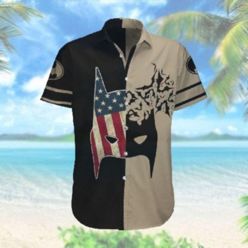 US flag Batman mask Hawaiian Hawaiian Shirt