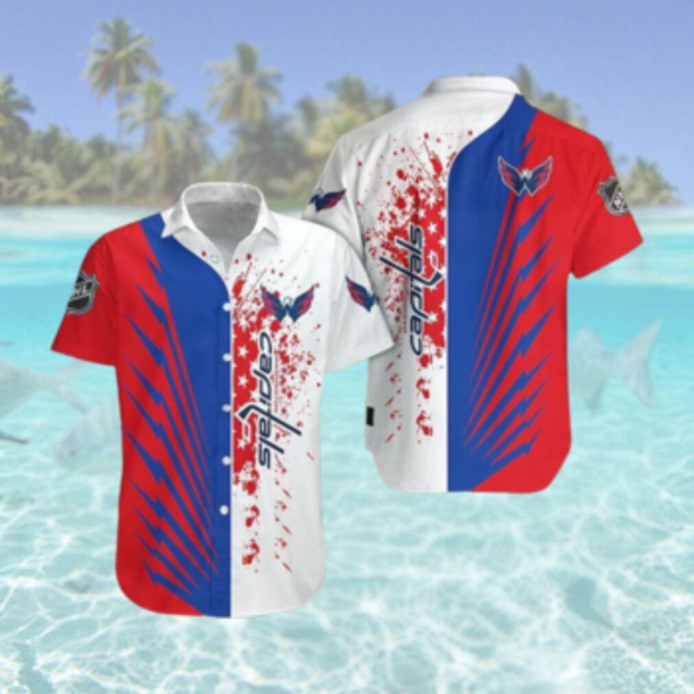 Washington Capitals Limited Edition Button Down Hawaiian Shirt