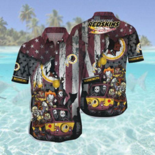 Washington Redskins NFL Hawaii Hawaiian Shirts