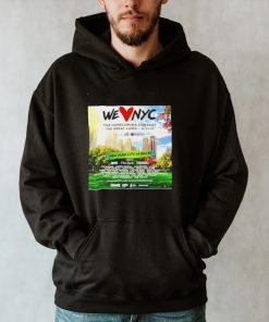We Love Nyc New York city is back shirt