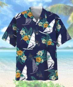Windsurfing Hawaiian Tropical Hawaiian Shirt