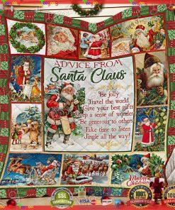 Santa Claus Quilt NP315