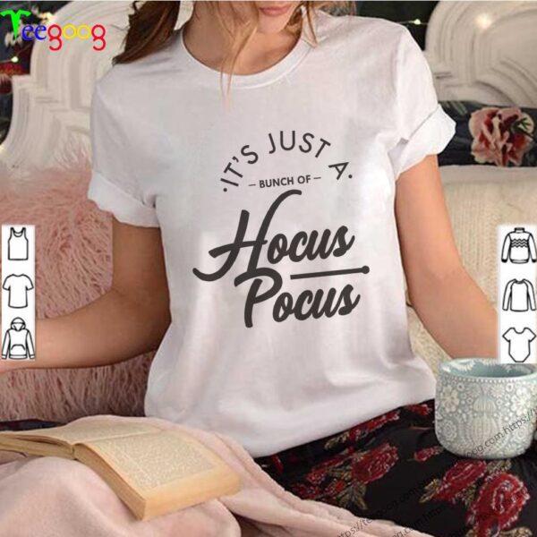 it&39;s just a Bunch of Hocus Pocus. Hocus Pocus Shirts, Halloween Shirt,Witch shirt, Ghost shirt,