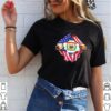 BLOOD INSIDES WEST VIRGINIA STATE AMERICAN FLAG INDEPENDENCE DAY T-