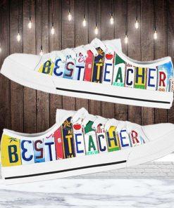 Best Teacher Low Top Shoes