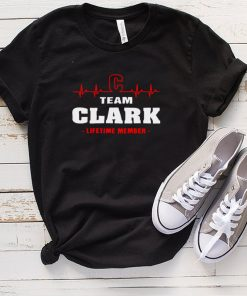 Clark Surname last name Family team Clark lifetime member shirt