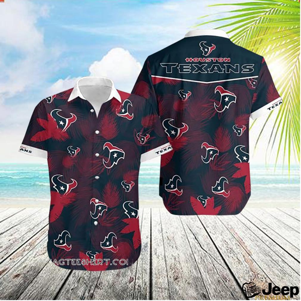 Houston texans hawaiian shirt