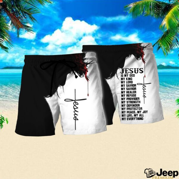 Jesus is my God my king my everything full over print shirt