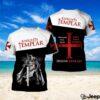 Knight templar honor the god love your woman full over print shirt