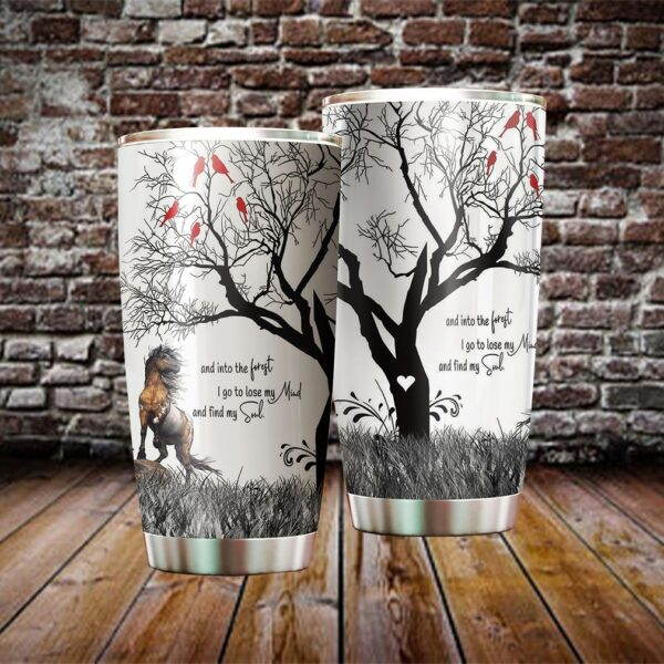 Love Horse Stainless Steel Tumbler cup