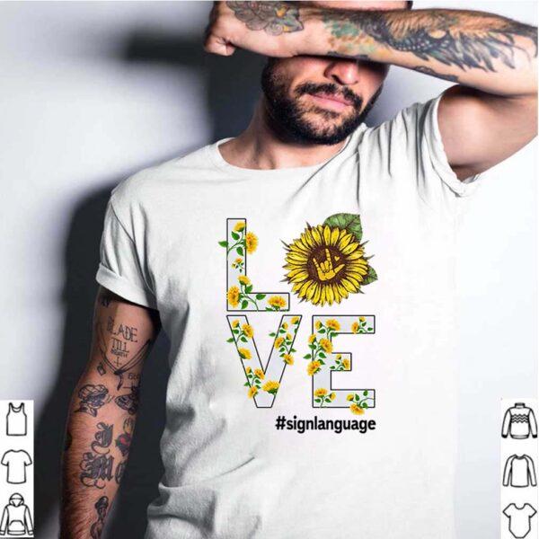 Love Sunflower Sign Language