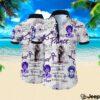 Prince all over printed hawaiian shirt